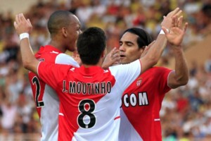 Joao Moutinho Radamel Falcao Monaco