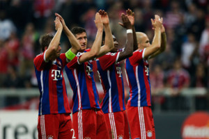 Lahm Lewandowski Robben Alaba Bayern Munich