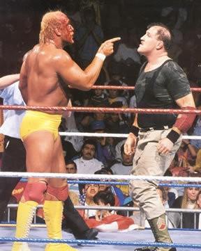 Image result for wrestlemania 7 hulk hogan vs sgt slaughter