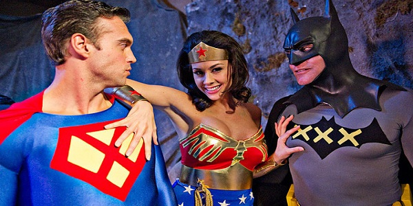 Necessary super porn hero parody what