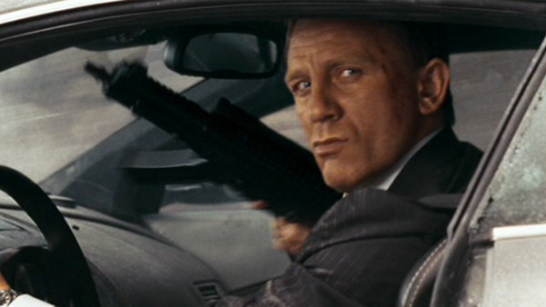 Quantum Of Solace James Bond Daniel Craig