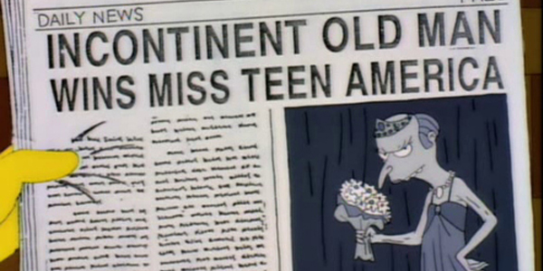 The Simpsons: 30 Best Newspaper Gags – Page 23