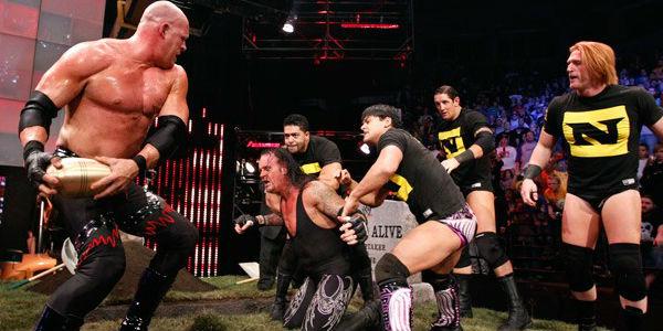 Resultado de imagem para The Undertaker vs. Kane - Bragging Rights 2010