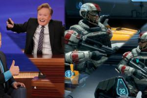 Conan O Brien Halo 4