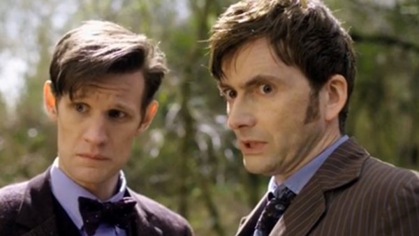 Doctor Who Matt Smith David Tennant Day Of The Doctor
