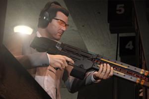 GTA V Michael Rail Gun