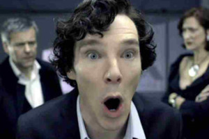 Sherlock Benedict Cumberbatch Shocked