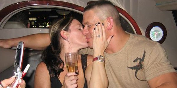 A Year After The Alleged Mickie Affair And John Cena Had Married His Childhood Sweetheart Elizabeth Huberdeau A Match Made In Heaven Far From It