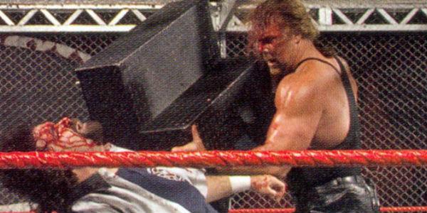 Image result for WWE Bad Blood 2003 HHH vs Kevin Nash