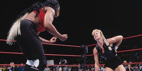 Image result for WWE Survivor Series 1998 Jackie w/Marc Mero vs Sable wwe.com