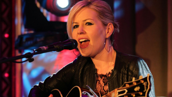Dido performing a set exclusively for Magic FM at Claridge's Hotel in central London.