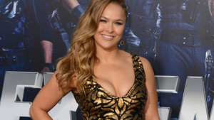 Ronda Rousey arrives at the premiere of
