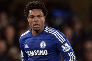 Chelsea's Loic Remy during the Barclays Premier League match at Stamford Bridge, London.