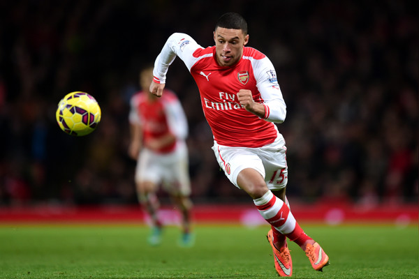 Alex Oxlade-Chamberlain happy switching roles: I play where I'm told