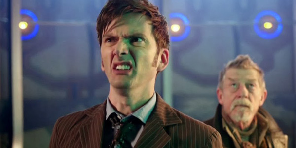 Doctor Who David Tennant Pulling Face