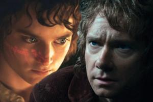 The Hobbit The Lord Of The Rings Frodo Elijah Wood Bilbo Baggins Martin Freeman