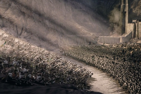 The Lord Of The Rings The Two Towesr Helms Deep