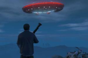 Grand Theft Auto V Ufo
