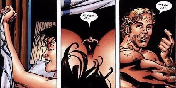 Kick Ass Comic Sex