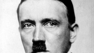 20th APRIL: On this day in 1889 Adolf Hitler was born.  1923: A portrait of Nazi Party leader Adolf Hitler by Heinrich Hoffmann.