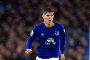 Everton's John Stones during the Barclays Premier League match at Goodison Park, Liverpool.