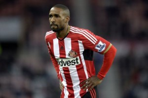 Sunderland's Jermain Defoe during the FA Cup Fourth Round match at the Stadium of Light, Sunderland.