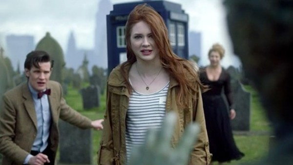 Doctor Who Amy Pond Graveyard