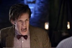 Doctor Who Matt Smith Annoyed