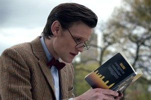 Doctor Who Matt Smith Reading