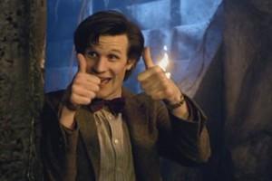 Doctor Who Matt Smith Thumbs Up