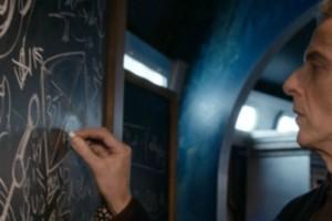 Doctor Who Listen Chalkboard
