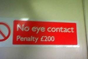 No Penalty Eye Contact