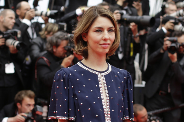 Jury member Sofia Coppola poses for photographers as she arrives for the screening of Foxcatcher at the 67th international film festival, Cannes, southern France, Monday, May 19, 2014. (AP Photo/Thibault Camus)