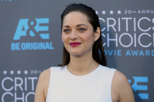 Marion Cotillard arrives at the 20th annual Critics' Choice Movie Awards at the Hollywood Palladium on Thursday, Jan. 15, 2015, in Los Angeles. (Photo by Matt Sayles/Invision/AP)