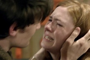Doctor Who Amy Pond Crying Hysterically