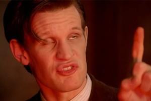 Doctor Who Matt Smith Funny Face 1