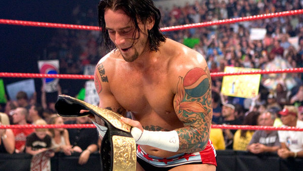 cm punk who's this?