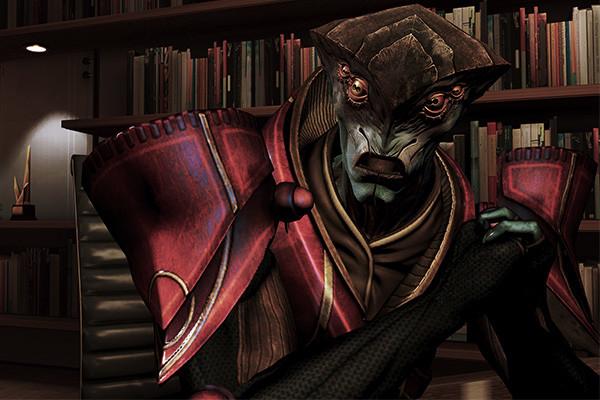Mass Effect 3 Javik