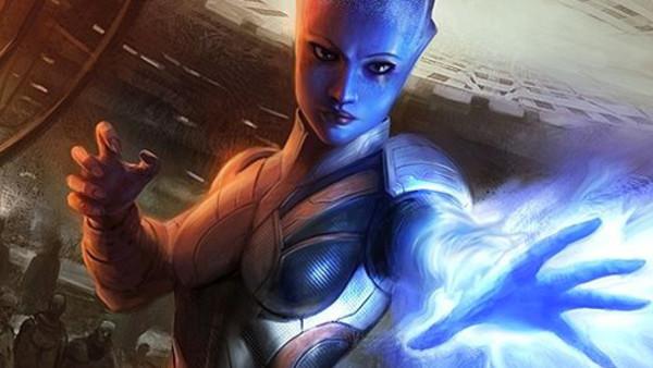 Mass Effect Liara