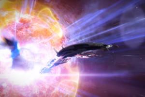 Mass Effect 3 Ending Ship