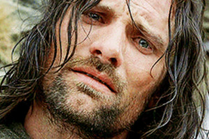 The Lord Of The Rings Crying Aragorn