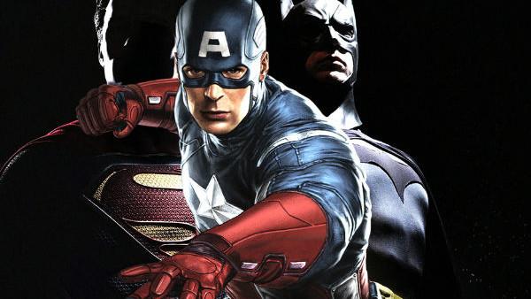 Batman Vs Superman Captain America