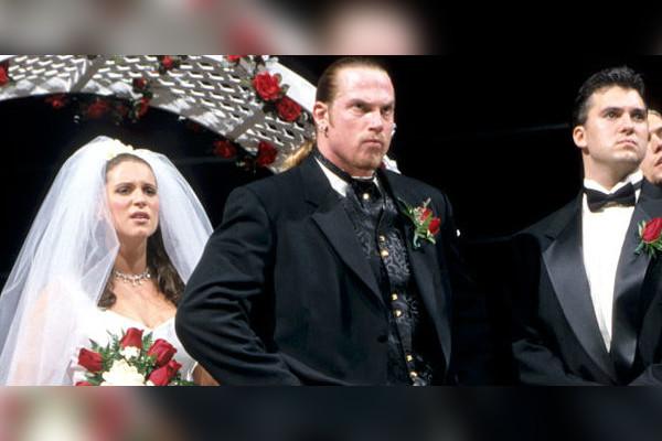 Wwe Test And Stephanie Wedding Unique Wedding Ideas