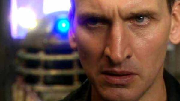 Doctor Who Christopher Eccleston Dalek Close