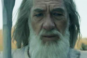 Gandalf The Lord Of The Rings Sir ian McKellen