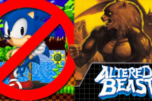 Mega Drive Sonic Altered Beast