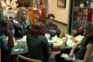 Avengers End Scene