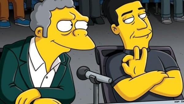 Simpsons Simon Cowell