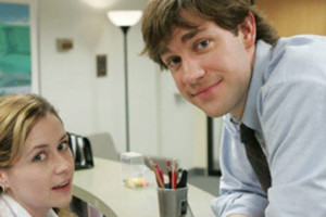 Jim Pam The Office Reception