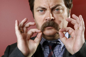 This Oct. 11, 2012 photo shows actor Nick Offerman from